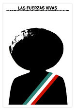 """Mexico movie Poster 4 film""""Las FUERZAS vivas""""Mexican revolution.Emiliano Zapata"""