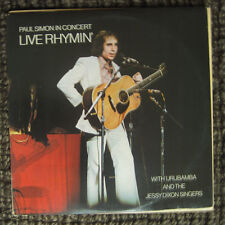 FREE 2for1 OFFER-Paul Simon – Live Rhymin' - Columbia – PC 32855/LP