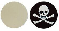 SKULL AND CROSSBONES METAL GOLF BALL MARKER DISC 25MM DIAMETER