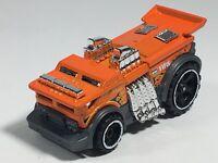 Hot Wheels Backdrafter Fire HW Metro Orange Gray Truck Car Black Flames 2018