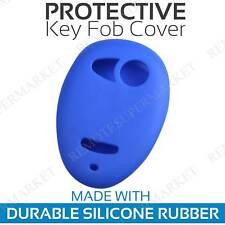Remote Key Fob Cover Case Shell for 2006 2007 2008 2009 2010 Hummer H3 Blue