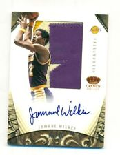 2012-13 Preferred Jamaal Wilkes Silhouettes Auto Game-Worn Prime Patch 9/25 (7T)