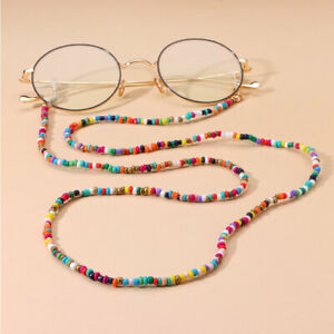 Glasses Neck Non-slip Chain Rope Lanyard Beaded Sunglasses Strap Spectacles Cord