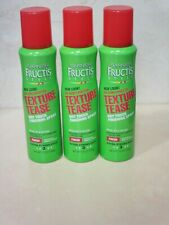 GARNIER FRUCTIS TEXTURE TEASE DRY TOUCH FINISHING SPRAY #3 3.8 OZ ~ 3 PC LOT
