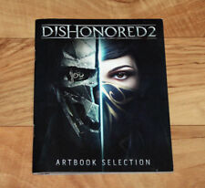 Dishonored 2 Art Buch Artbook Selection Art Book Promo Xbox One PS4