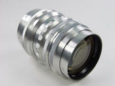 Early Russian 180mm f/2.8 lens JUPITER 6 Zenit M39 M42 s/n 001351. Sonnar copy.