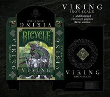 Set of 2 Viking Playing Card Decks Wizzard Wing & Iron Scale New