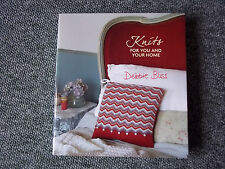 KNITS FOR YOU AND YOUR HOME - DEBBIE BLISS KNITTING BOOK -
