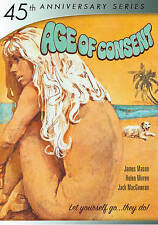 Age of Consent DVD 2015 45th Anniv James Mason, Helen Mirren Michael Powell