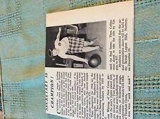 m9-8 ephemera 1966 london transport picture bowls champion kay seaward