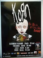"""PUBLICITE-ADVERTISING :  KORN  2006 pour le """"See You On The Other Side Tour"""""""