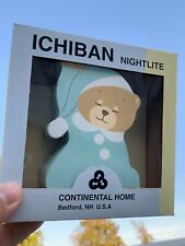 Brand New & Box Baby Nursery Goodnight Teddy Bear Nightlight Plug in Wall ��sj3j