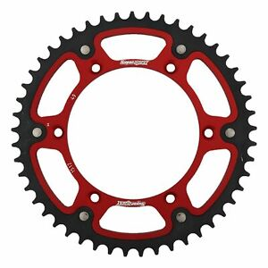 New - Red Stealth sprocket 49T Chain Size 520