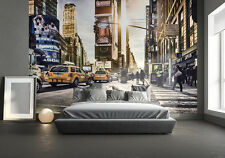 Giant New York Times Square wall mural BEST QUALITY non woven photo home decor