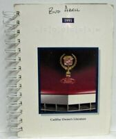1991 Cadillac Brougham Owners Operator Manual