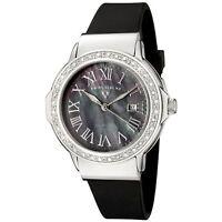 NEW Swiss Legend 20032D-01 womens South Beach ss black diamond accented watch