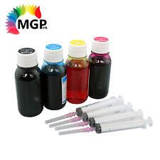 4x 100ml Refill Ink for HP 61 61XL J110a J210a J310a J410a 1000 1050 2000 2050