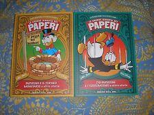 LA GRANDE DINASTIA DEI PAPERI 11 - 12 fumetti Disney Paperino Zio Paperone Barks
