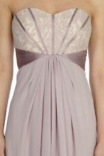 BNWT🌹Coast🌹Size 6 Coast Suri Lace Blush Mink Maxi Dress Ballgown Bridesmaids