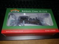'OO9' BACHMANN 391-028 ASHOVER LIGHT RAILWAY BLACK BALDWIN CLASS 10-12-D 'HUMMY'