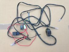 UNIVERSAL MOTORCYCLE INDICATOR WIRING LOOM HARNESS KIT 12 V for LED bulbs