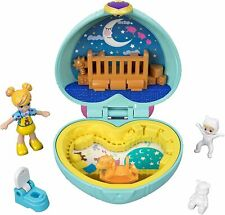 Polly Pocket GFM51 Teeny tot Kinderzimmer kompakt Puppen