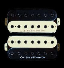 Guitar Parts GUITARHEADS PICKUPS HEXBUCKER HUMBUCKER - 7 STRING - SET 2 - ZEBRA