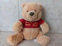 "Disney Baby Winnie the Pooh Baby's 1st Pooh Bear Plush Stuffed Rattle 7-1/2"""