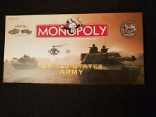 Monopoly United States Army Edition Collectible Board Game Fantastic!