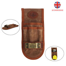 More details for tourbon canvas tool work belt loop pouch holster tape measure waist holder in uk