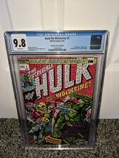 Hunt For Wolverine #1 CGC 9.8 White Pages Shattered Variant Comic Hulk 181