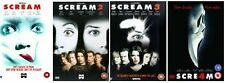 SCREAM Complete Horror Movie Films Collection Part 1 2 3 4 + Extras New Sealed