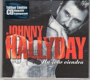 Johnny HALLYDAY digipack édition limitée CD 2 titres Un jour viendra