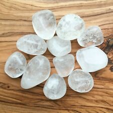 Large Clear Quartz Tumblestones 100g Wholesale Crystal Therapists Healers