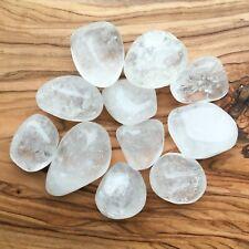 Large Clear Quartz Tumblestones 100g Wholesale Crystal Therapists Healers Reiki