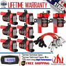 Round Ignition Coil Spark Plug Pack For Chevy Silverado GMC LS1 LS3 4.8 5.3 6.0L