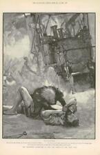 1890-FINE ART PRINT merveilleuses aventures Phra phénicien Paget (049)