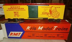 Kris Model Trains, 1977, Christmas Car with box. (14G)