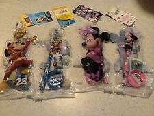 4 x New Mickey and Minnie 4pc stationery set with pouchs total 20pc