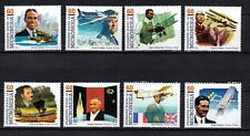 MICRONESIA, Scott # 249, COMPLETE SET OF 8 PIONEERS OF FLIGHT, MINT NEVER HINGED