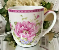 Kaffeebecher Kaffeetasse Pot Tasse Rose Rosa  Shabby Vintage