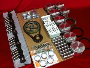 Buick 401 Master rebuild engine kit 1962 63 64 65 pistons bearings gaskets chain