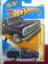 Hot Wheels '78 Dodge Lil Red Express Pickup (Purple version)!!