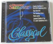 New Discovery Classical Sampler Urss Simfonia Canadian Brass Mario Lanza CD