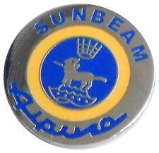 Sumbeam Alpine logo lapel pin (round)