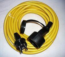 Cable Blindado Panzer Cable De Extensión 10m Cable De Obra Alargador