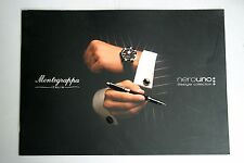 Montegrappa Fountain Ballpoint Pen Catalog Magazine Book Italy 2