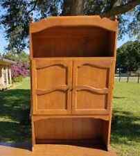 **VERY RARE**Ethan Allen Custom Room Plan/CRP Upper French Door Bookcase Unit!!