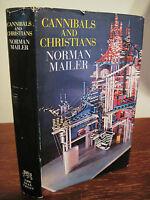 Cannibals and Christians Norman Mailer 1st Edition 3rd Printing HCDJ 1966