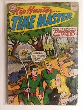 Rip Hunter Time Master #22 VG+ Stowaway From A.D.
